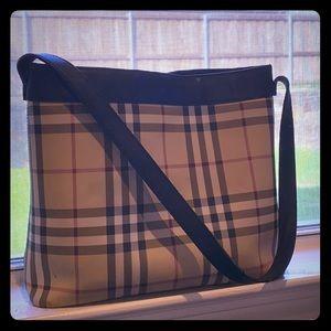 Burberry Check shoulder purse